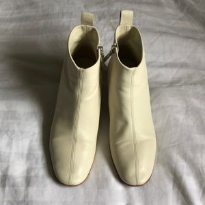 Everlane Day Boot in Bone - Size 7.5